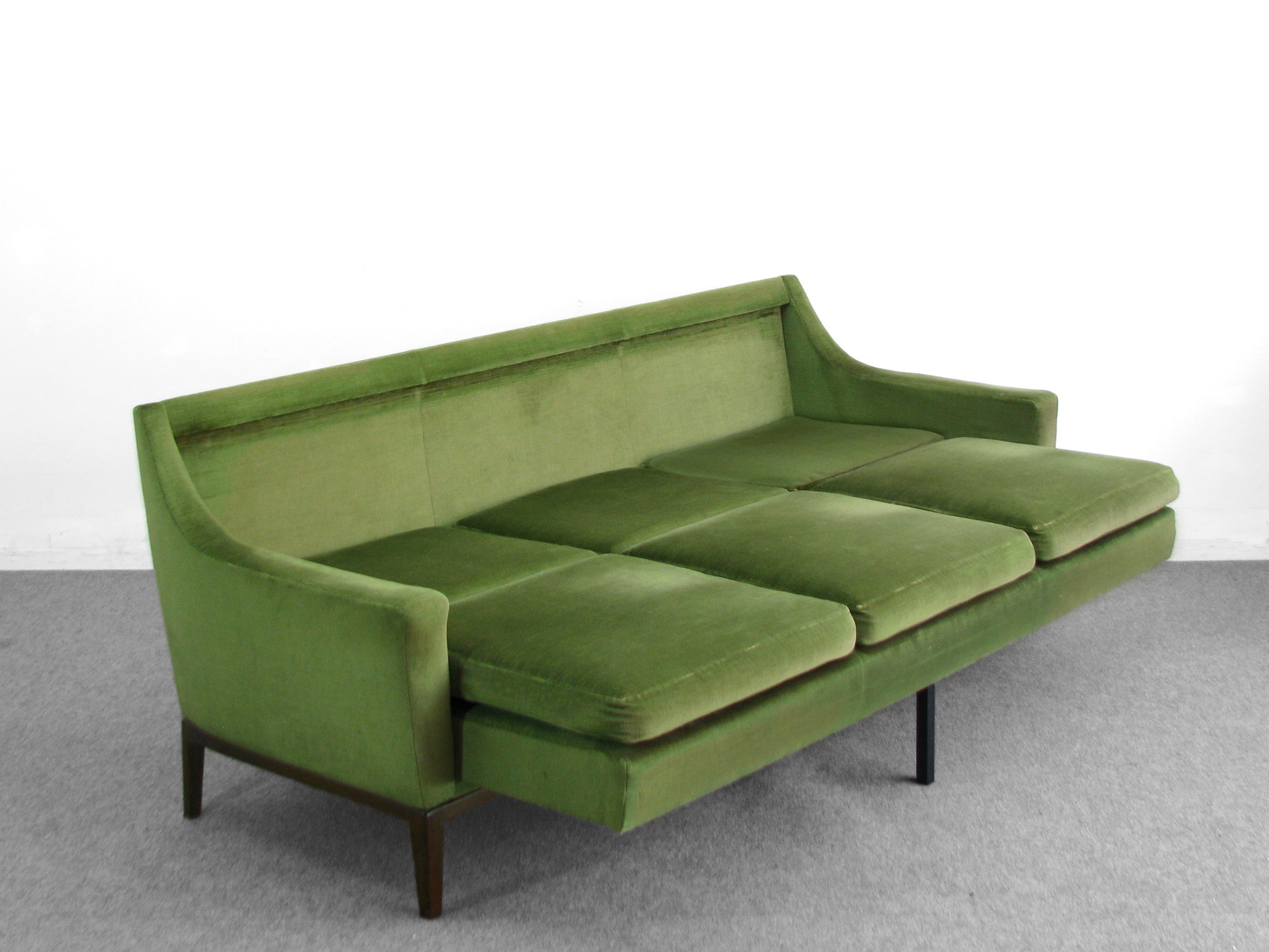 60s daybed couch sofa schlafcouch schlafsofa 50er 60er ebay. Black Bedroom Furniture Sets. Home Design Ideas